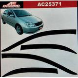 Bota Aguas Ac Racing Toyota Corolla 2003 4pts Nuevo