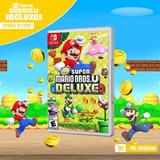 Super Mario Bros U Deluxe Nint - Switch Juego Nuevo Electrox