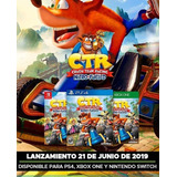Crash Team Racing--  Ps4 - Switch - One Sellados