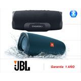 Jbl Parlante Charge4 Bluetooth Resistente Agua 30w(sumcomcr)