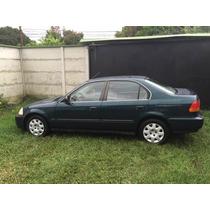 Honda Civic 1998 Automatico Impecable, Para Incribir Estrene