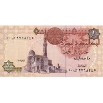 Billete Egipto 1 Libra Unc