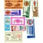 Lote 9 Billetes, Cupones De China