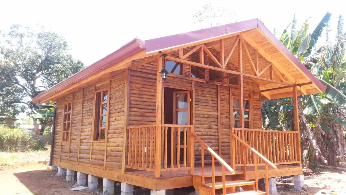 Top cabanas de troncos de madera wallpapers - Construccion de cabanas de madera ...