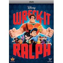Dvd Ralph El Demoledor, Nuevo