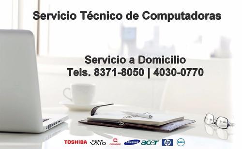 Formateo De Computadoras Laptops A Domicilio Windows Office