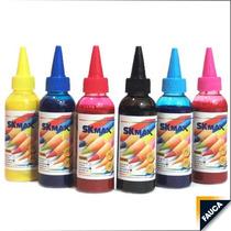 Tinta Para Sublimación Botella De 100ml, Papel Sublimar