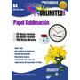 Papel Para Sublimación A3 100 Hojas,sublimar,tintas