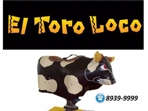 Inflable Gratis Al Contratar Toro Mecanico