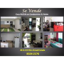 Casa Nueva En Condominio Malaga , El Roble, Alajuela