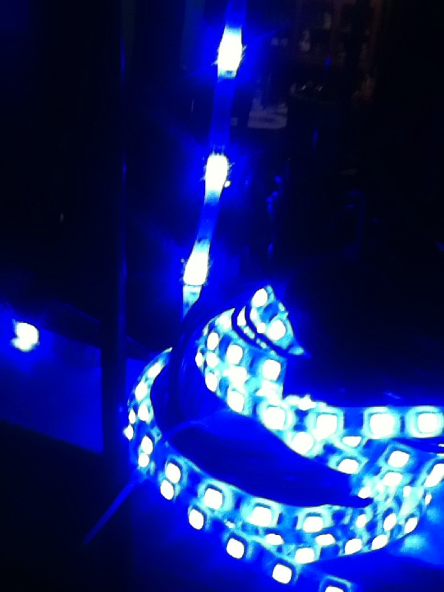 Luces led de tira moto auto decoracion contra agua 12v - Luces led en tiras ...