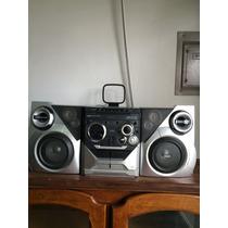 Equipo De Sonido Philips Para 3 Cds,mp3 Potente Como Nuevo