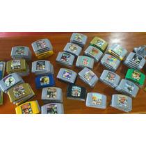 Juego De Nintendo 64 Coleccion Vendo,consola Memoria Varios