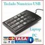 Teclado Numérico Mini Usb Ibm Laptop Pc Pad Iphone 5 Galaxy