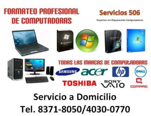 Reparación De Computadoras, Laptops En Heredia A Domicilio