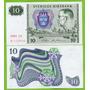 Billete De Suecia 10 Kronor 1981, P-52e.2   Unc .mlc   NUMISMATICAMALECA